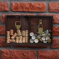 Копилка для пробок Wine, Beer, 19,5 х 30 см