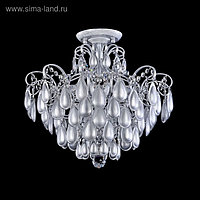 Люстра Chabrol 4x40Вт E14 серебро 47,4x39,1см