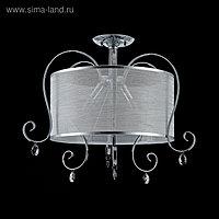 Люстра Simone 3x40Вт E14 хром 62,8x62,8x50,7см