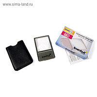Линза Френеля Levenhuk Zeno 90, 2,5x, 48x45 мм, 1 LED, металл