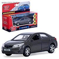 Машина металлическая Toyota corolla 12 см, открываются двери и багажник, инерционная