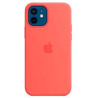 Apple Чехол iPhone 12 Pro Silicone Case with MagSafe - Pink Citrus аксессуары для смартфона (MHL03ZM/A)