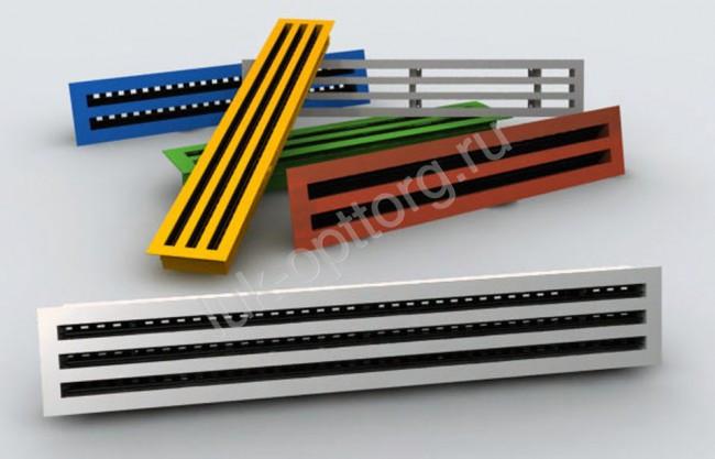 Вентиляционная решетка алюминиевая - фото 2