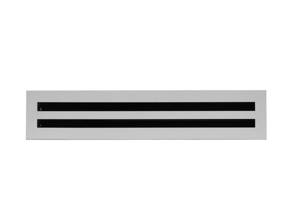 Вентиляционная решетка алюминиевая - фото 3