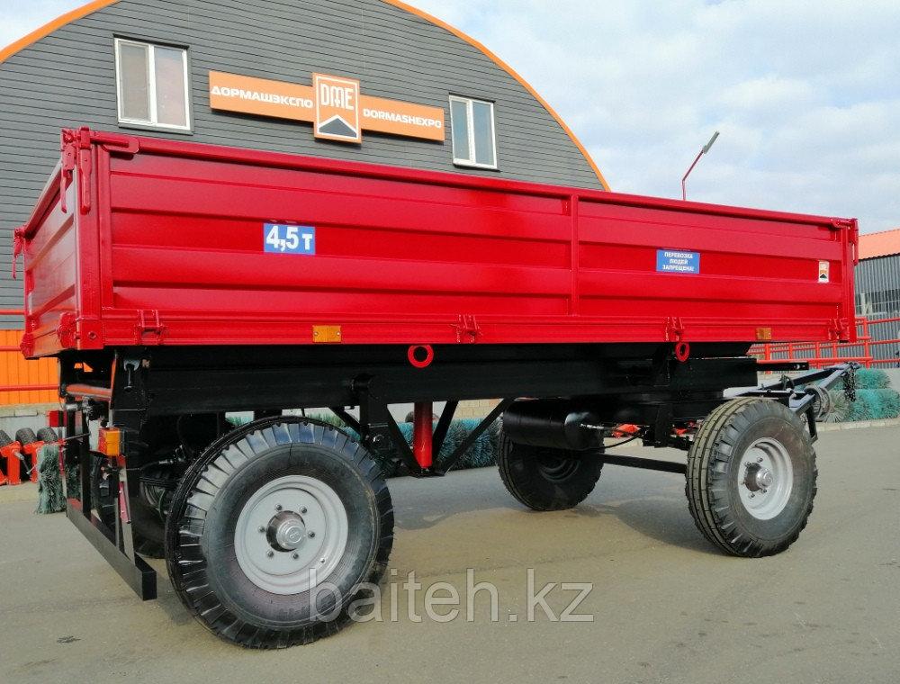 Прицеп тракторный самосвальный 2ПТС-4,5 (с бортами из профилированного листа)
