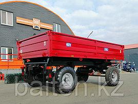 Прицеп тракторный самосвальный 2ПТС-4,5 (с бортами из профилированного листа), фото 3