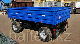 Прицеп тракторный самосвальный 2ПТС-4,5 (с бортами из профилированного листа), фото 2