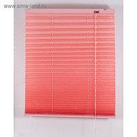 Штора-плиссе, размер 180х160 см, цвет розовый