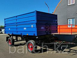 Прицеп тракторный самосвальный 2ПТС-4,5 (с надставными цельнометаллическими бортами), фото 2