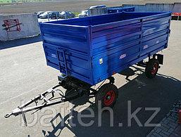 Прицеп тракторный самосвальный 2ПТС-4,5 (с надставными цельнометаллическими бортами), фото 3