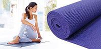 Йогамат коврик для йоги, фитнеса и пилатеса (6 мм)
