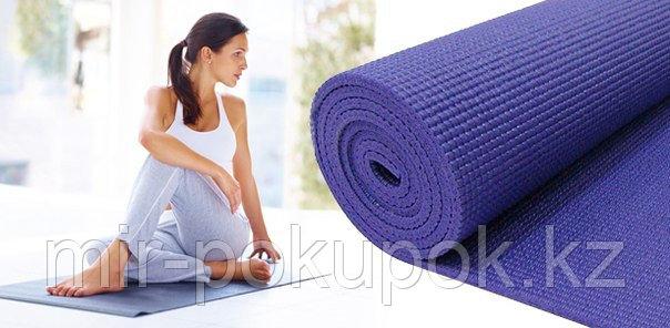 Йогамат коврик для йоги, фитнеса и пилатеса (6 мм) - фото 1