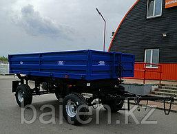Прицеп тракторный самосвальный 2ПТС-6,5 (с бортами из профилированного листа), фото 2