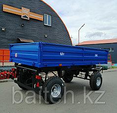 Прицеп тракторный самосвальный 2ПТС-6,5 (с бортами из профилированного листа), фото 3