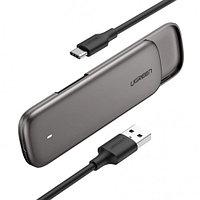 UGREEN Корпус для установки M.2 SSD накопителя NGFF B-Key (USB C 3.1) аксессуар для пк и ноутбука (1314622)