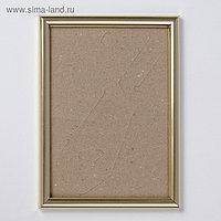Фоторамка пластик 15х21 см золото