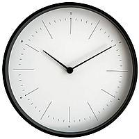 Часы настенные Lacky, белые с черным, фото 1