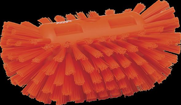 Щетка для очистки емкостей, 205 мм, Жесткий, оранжевый цвет