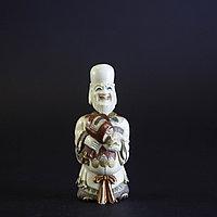 Окимоно, «Дайкоку» Божество счастья и покровитель бизнеса. Флакон для благовоний (вехняя часть снимается).
