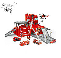 "Парковка ""пожарная станция"" Intellgence test game fire brigade Оптом"