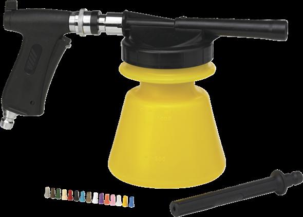 """Распылитель пены , 1/2"""", 1,4 л, желтый цвет"""