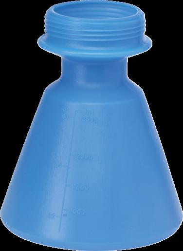 Бачок запасной, 2,5 л, синий цвет