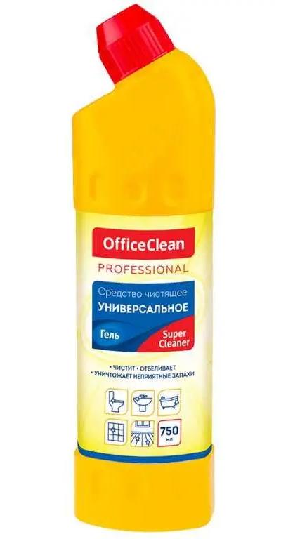 "Средство для чистки сантехники OfficeClean ""SuperCleaner"", 750 мл"
