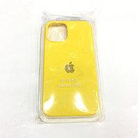 Желтый чехол для Iphone 12 Silicon Core