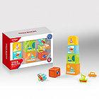 HAUNGER Игровой набор ПИРАМИДКА:5 стаканчиков,3 игрушки (в кор.24шт.)