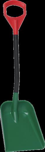 Лопата для снега, 340 x 270 x 75 мм, 951 мм