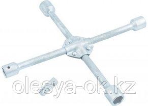 Ключ-крест баллонный 17 х 19 х 21 х 22 мм, с переходником. STELS, фото 2