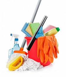 Моющие средства, инвентарь и оборудование для уборки