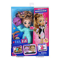 FailFix ФейлФикс Игровой набор кукла 2 в1 Слэйт Диджей с аксессуарами