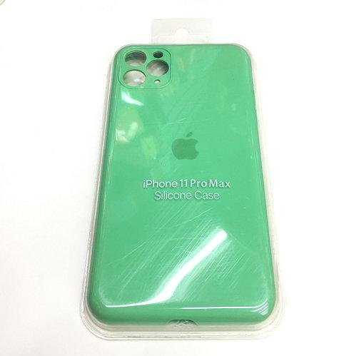 Зелёный чехол для Iphone 11 Pro Max Silicon Core