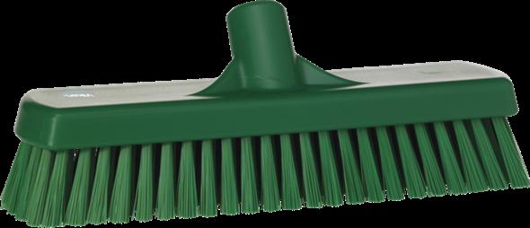 Щетка для мытья полов и стен, 305 мм, Жесткий ворс, зеленый цвет