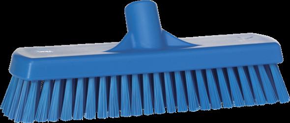 Щетка для мытья полов и стен, 305 мм, Жесткий ворс, синий цвет