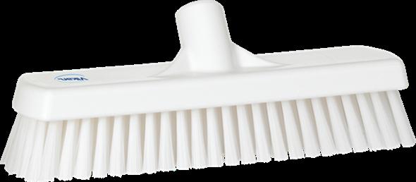 Щетка для мытья полов и стен, 305 мм, Жесткий ворс, белый цвет