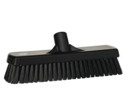 Щетка для мытья полов и стен, 305 мм, Жесткий ворс, черный цвет