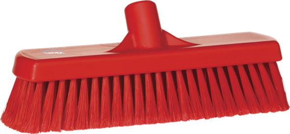 Щетка для подметания, 300 мм, Мягкий/ расщепленный ворс, красный цвет