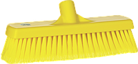 Щетка для подметания, 300 мм, Мягкий/ расщепленный ворс, желтый цвет