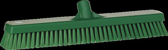 Щетка для мытья полов и стен, 470 мм, Жесткий ворс, зеленый цвет