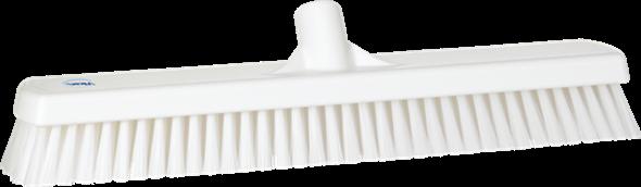 Щетка для мытья полов и стен, 470 мм, Жесткий ворс, белый цвет