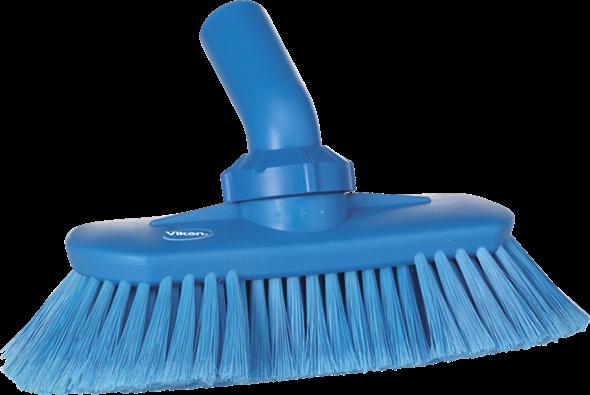 Щетка с подвижным креплением и подачей воды, 240 мм, Мягкий/ расщепленный ворс, синий цвет
