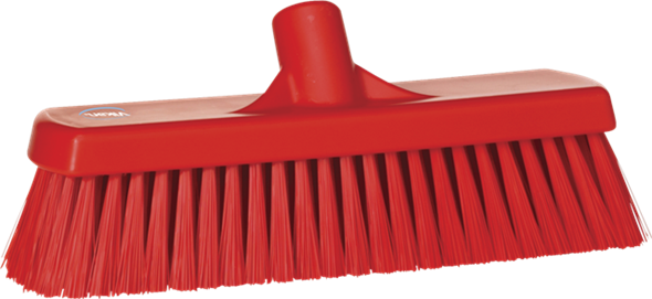 Щетка для подметания, 300 мм, средний ворс, красный цвет