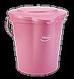 Крышка для ведра, 12 л, Розовый цвет, фото 2