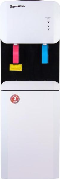 Кулер для воды Aqua Work 105-LR белый-черный