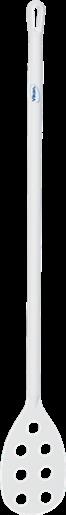 Весло-мешалка перфорированная, Ø31 мм, 1200 мм, белый цвет