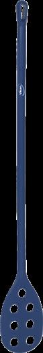Весло-мешалка перфорированная, Ø31 мм, 1200 мм, металлизированный синий цвет