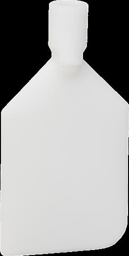 Скребок-лопата гибкий, 220 мм, белый цвет