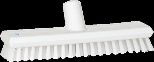 Щетка скребковая поломойная с подачей воды, 270 мм, Очень жесткий, белый цвет